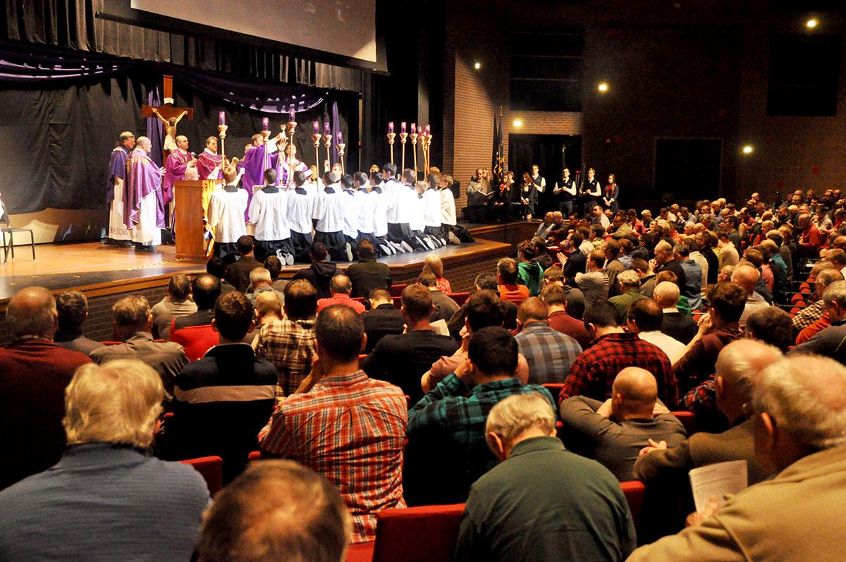 'Put on the armor of God': Catholic men encouraged in ...