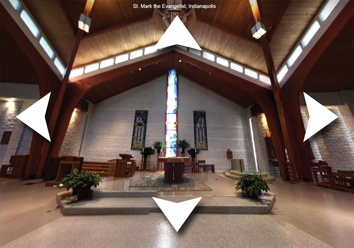360 Degree Images Of Church Interiors Being Added To