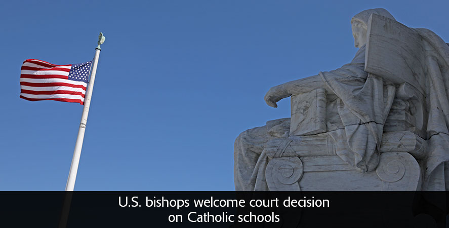 U.S. bishops welcome court decision on Catholic schools