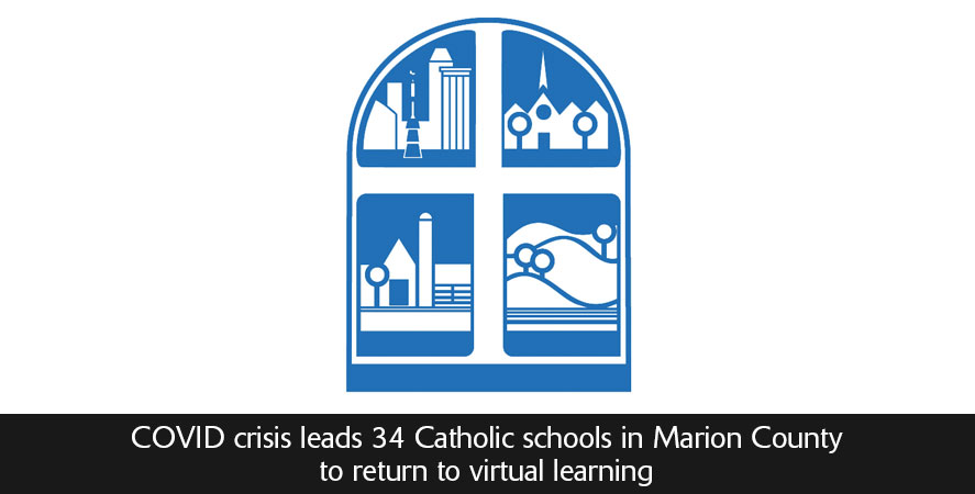 COVID crisis leads 34 Catholic schools in Marion County to return to virtual learning