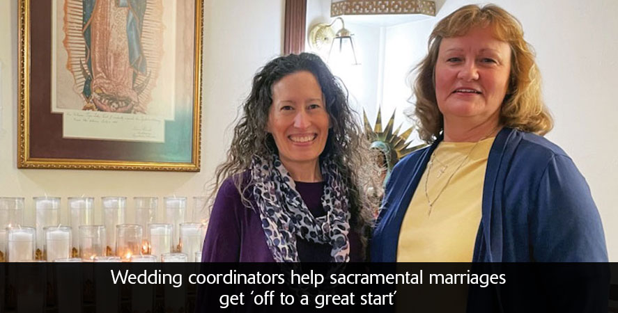 Wedding coordinators help sacramental marriages get 'off to a great start'