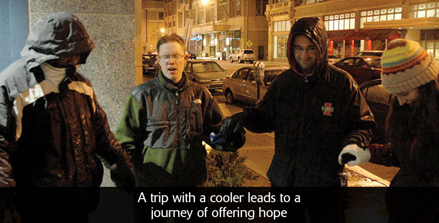 A trip with a cooler leads to a journey of offering hope