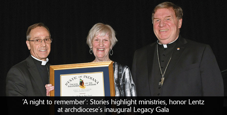 Stories highlight ministries, honor Lentz at archdiocese's inaugural Legacy Gala