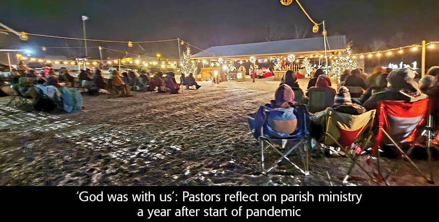'God was with us': Pastors reflect on parish ministry a year after start of pandemic