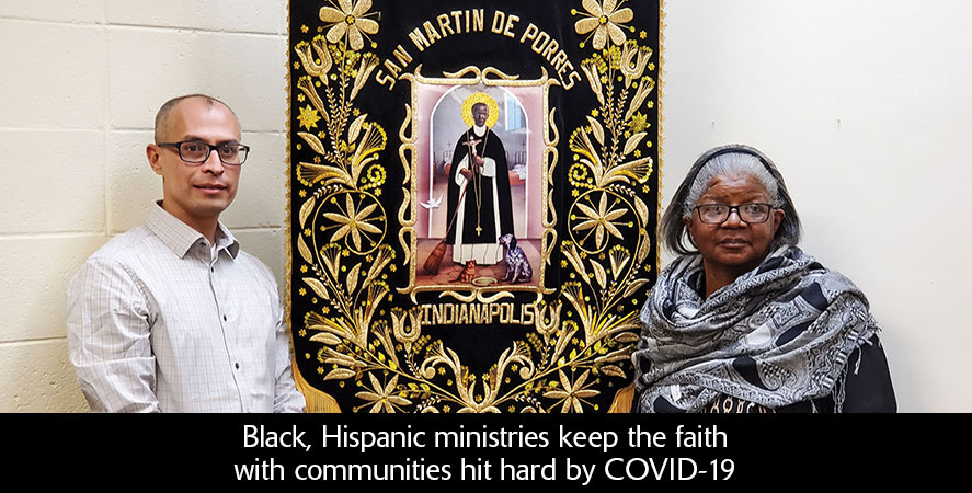 Black, Hispanic ministries keep the faith with communities hit hard by COVID-19