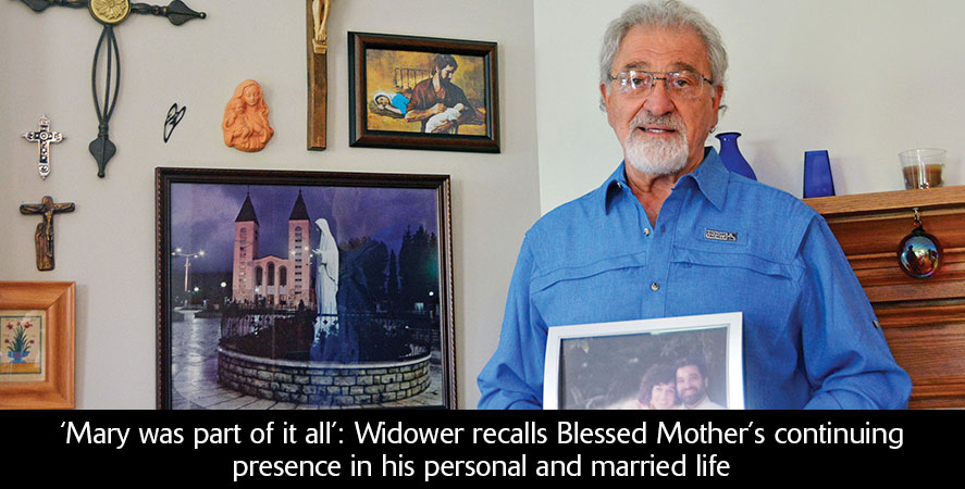 'Mary was part of it all': Widower recalls Blessed Mother's continuing presence in his personal and married life